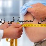العوامل المسببة في زيادة الوزن